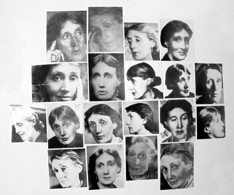 Virginia Woolf. Dibujos