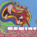 Apolo mata a la serpiente Pitón