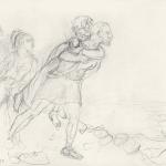 Eneas, fugitivo de Troya