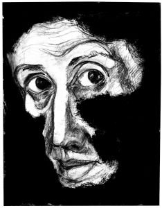 Virginia Woolf. Dibujos