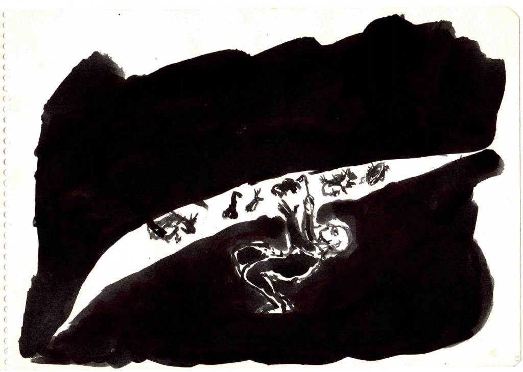 2.- Mago Iluminador de abismo negro vientre negro vacío negro.